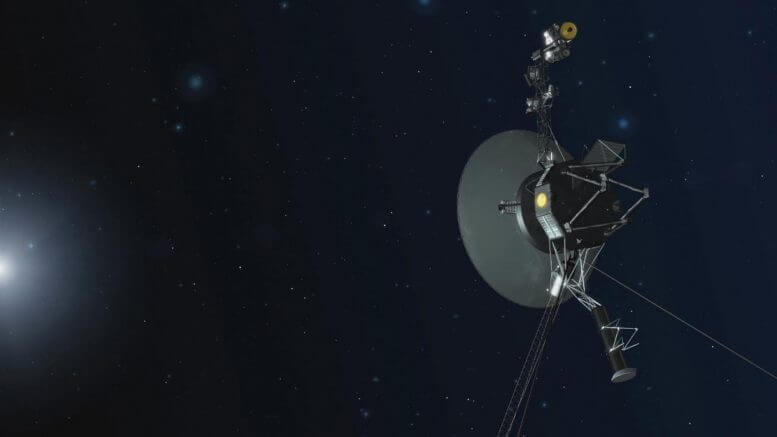 Unique Physics in Interstellar Space: Voyager Spacecraft Detect New Type of Solar Electron Burst
