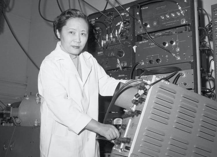 New postage stamp honors Chien-Shiung Wu, trailblazing nuclear physicist