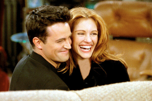 Matthew Perry wrote quantum physics paper to get Julia Roberts to guest star on 'Friends'